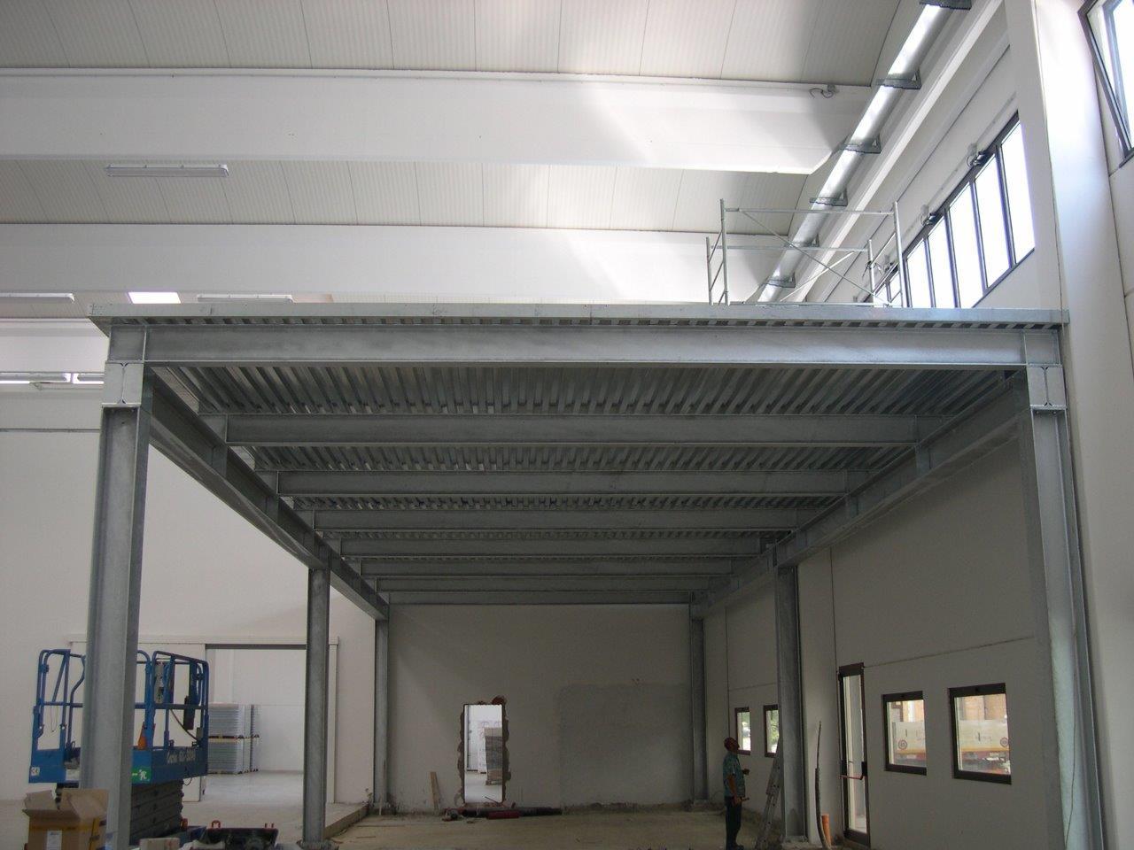 Soppalchi freg impianti industriali e strutture for Strutture in ferro per case